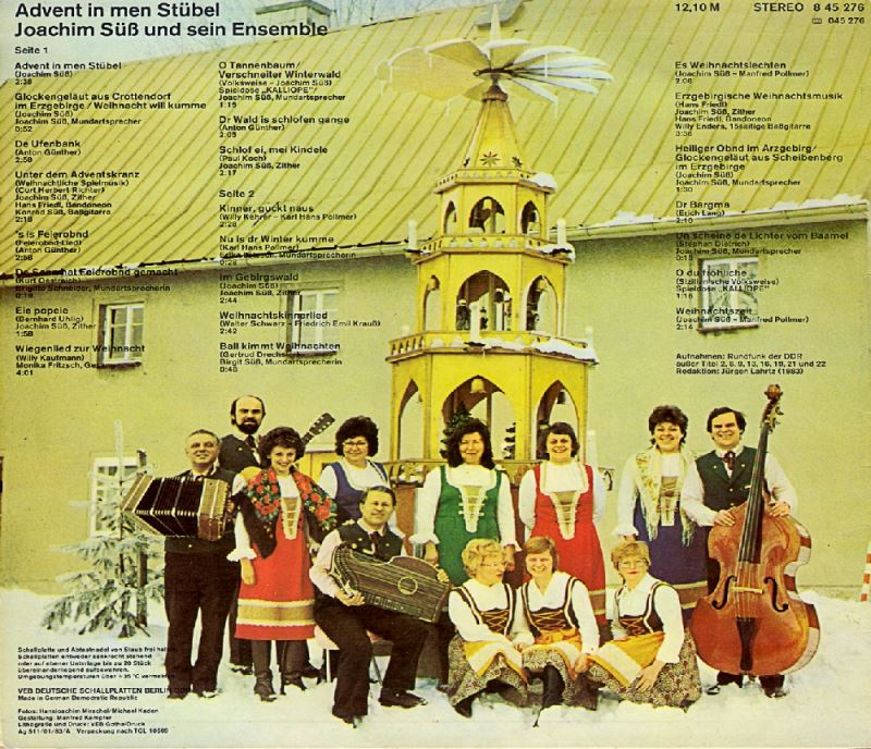 Erzgebirgische Weihnachtslieder.Advent In Men Stübel Erzgebirgische Adventsmusik