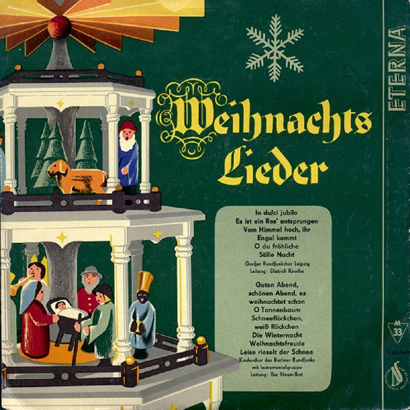 Ddr Weihnachtslieder Texte.Weihnachtslieder 1959 Ddr Audio Cd